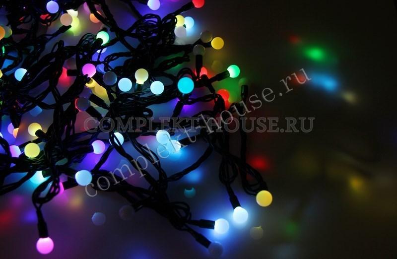Шарики-гирлянда LED 303-509-2