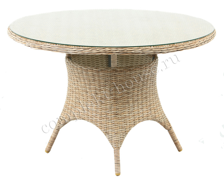 """Roccione"". Обеденный стол, диаметр 110 см."