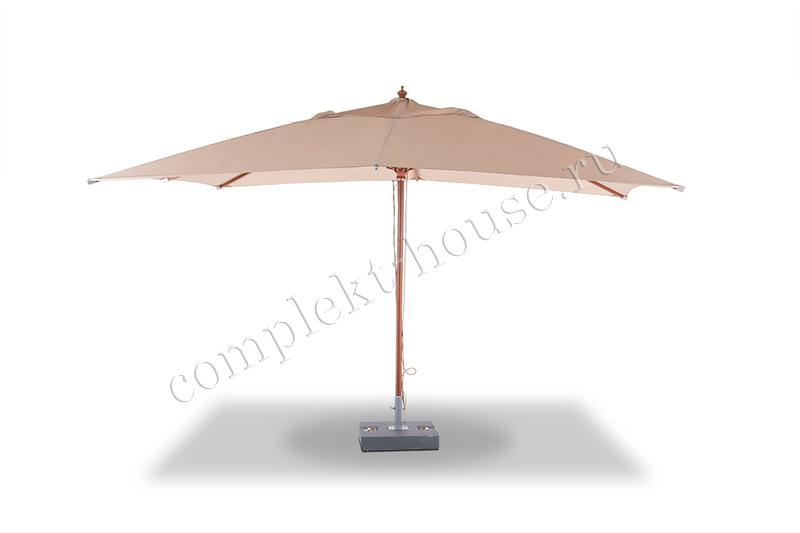 Уличный зонт Giji 3х4 м