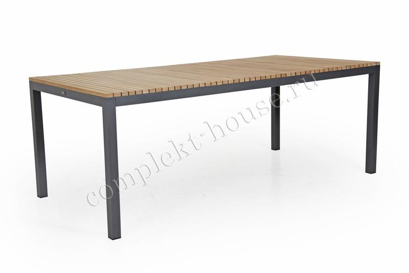 """Zalongo"". Обеденный стол из тика (200х100х75 см)."