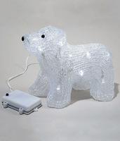 Светодиодная фигура Медвежонок Полярный 17см
