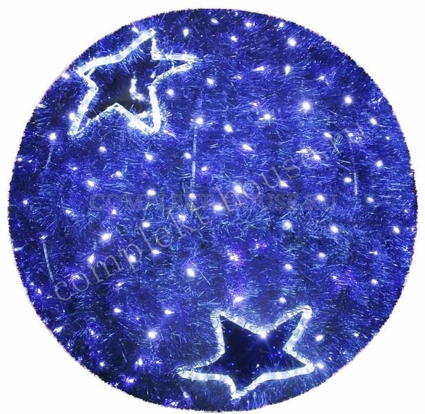 Световая фигура Шар синий