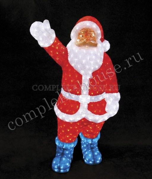 3D акриловая светодиодная фигура Санта Клаус 210 см
