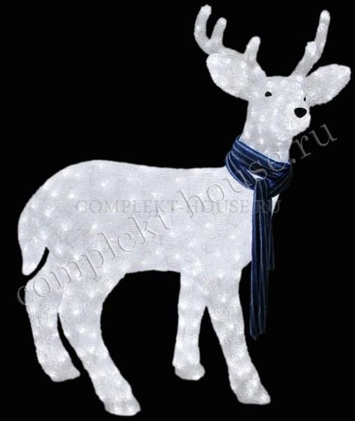 3D акриловая светодиодная фигура Северный олень