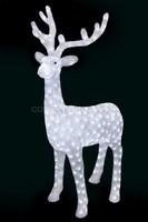 3D акриловая светодиодная фигура Северный олень 130 см