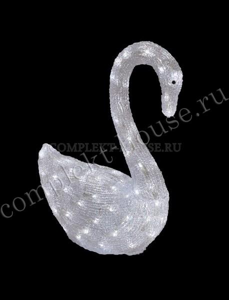 """""""Лебедь"""". 3D акриловая светодиодная фигура."""