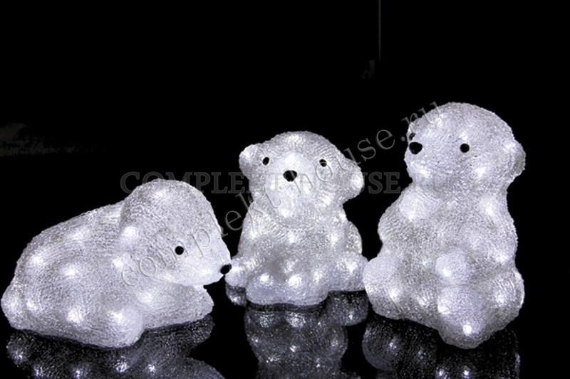 3D акриловые светодиодные фигуры Медвежата