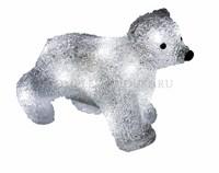 3D акриловая светодиодная фигура Медвежонок 18 см