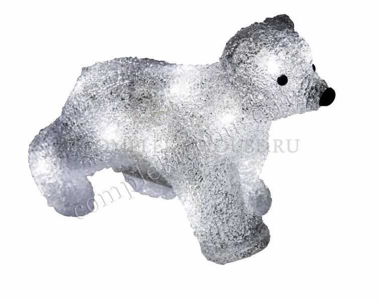 """""""Медвежонок 18 см"""". 3D акриловая светодиодная фигура."""