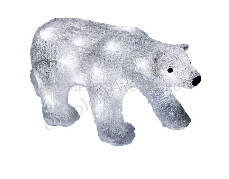 Светодиодная фигура Медведь 17 см