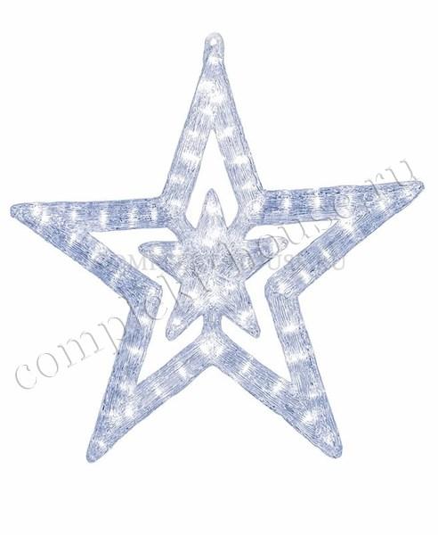 Акриловая светодиодная фигура 3D Звезда