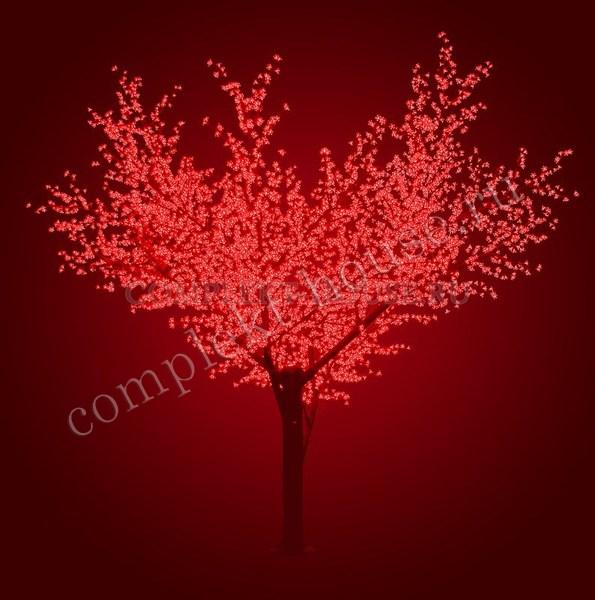 Светодиодное дерево Сакура Высота 3,6 м, 6921 LED