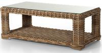"""Eddo"". Стол из искусственного ротанга (140х70х52 см)."