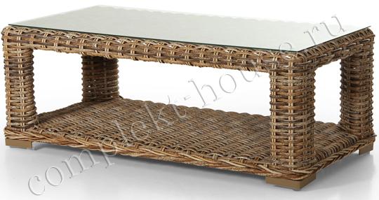 Стол из искусственного ротанга Eddo