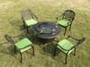 Комплект мебели со столом барбекю Fidji