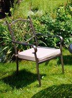 """""""Bella"""". Кресло из литого алюминия."""