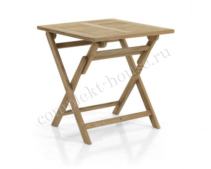 """Turin"". Стол из тика, 70х70 см."