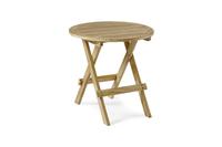 """Moni"".Стол из тика, складной, диаметр 50 см."