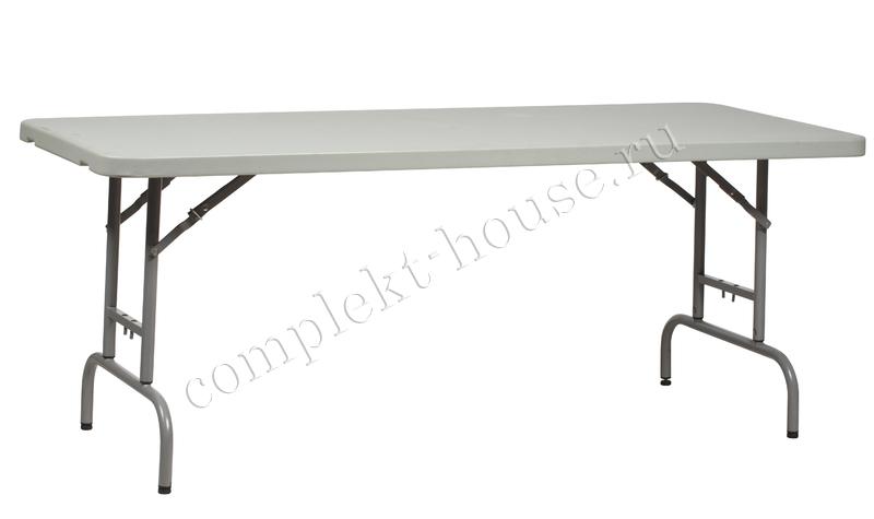 """""""WorktTop"""". Складной стол 180 см (с регулируемой высотой)."""