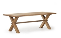 """Everest"".Тиковый стол, размер 220x100х74 см."