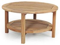 """""""Collin"""".Тиковый стол, диаметр 90 см."""