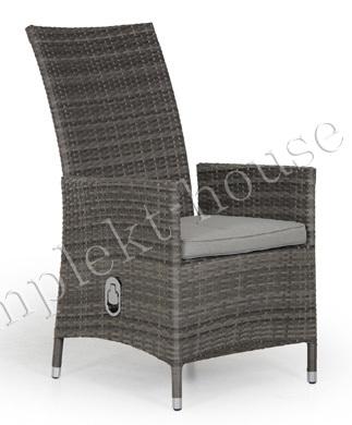 """""""Ninja"""". Плетеное кресло, регулируемая спинка."""