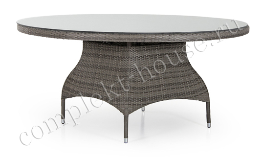 """Ninja"". Плетеный стол, диаметр 160 см ."