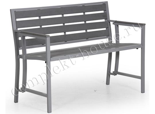 """Linton"". Скамейка, складной каркас, 103x43x45 см."