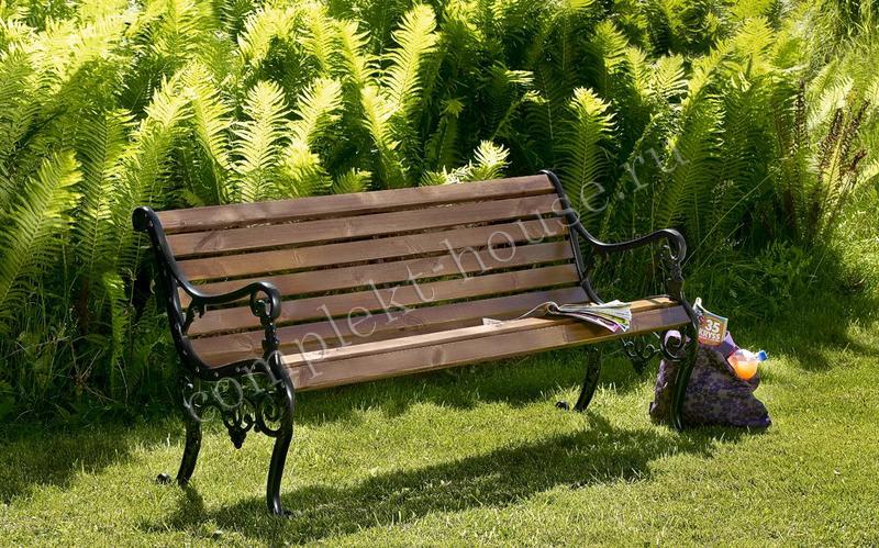 """""""Sandvik"""". Скамейка, сосна, размер 150х60 см."""