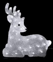 Акриловая фигура Олень Бэмби 39см 64 LED