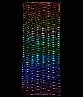 Сеть светодиодная Бегущий огонь 3х1м