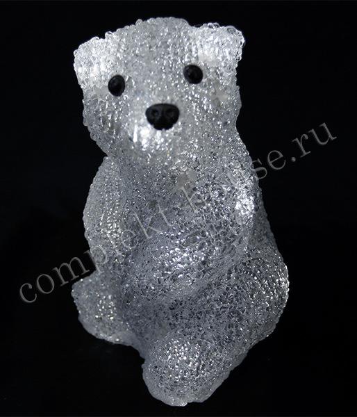 Акриловая фигура Медвежонок Бобби 20см