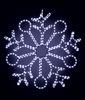 Светодиодная снежинка Snowflake 90 см