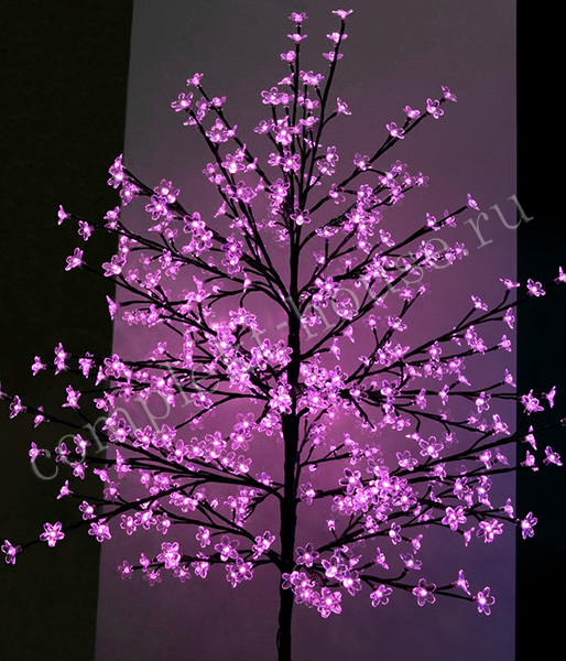 Дерево светодиодное Сакура 1,5 м 504 LED