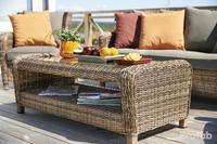 """Venus"". Плетеный стол, размер 120х60х45 см."