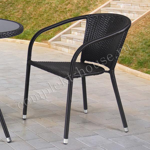 """""""Bistro"""". Кресло из искусственного ротанга."""