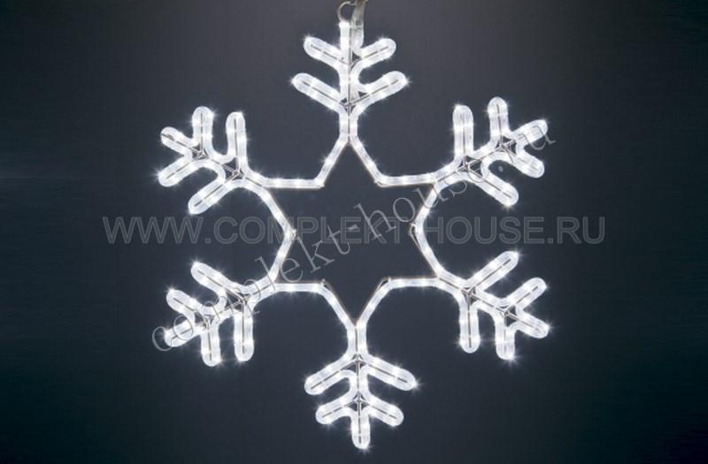 Снежинка светодиодная D 80 см