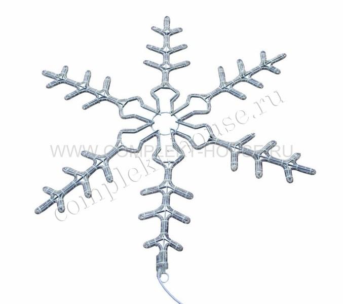 Снежинка 95 см мигающая 2В с контроллером