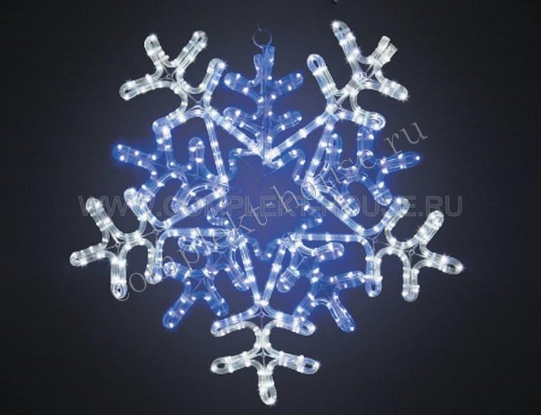 Снежинка Размер 60х60 см с контролером