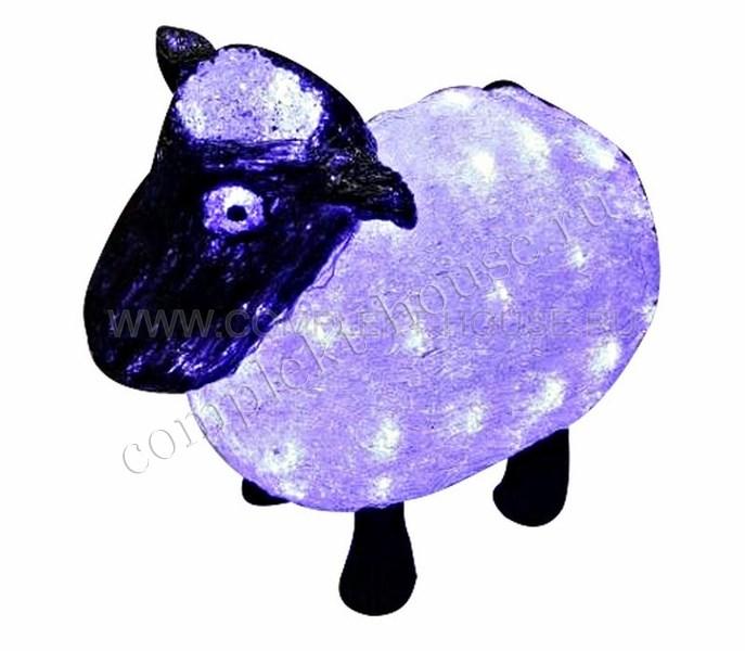 Акриловая светодиодная фигура 30см Овца
