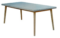 """Arosa"". Обеденный стол, 200х100 см."