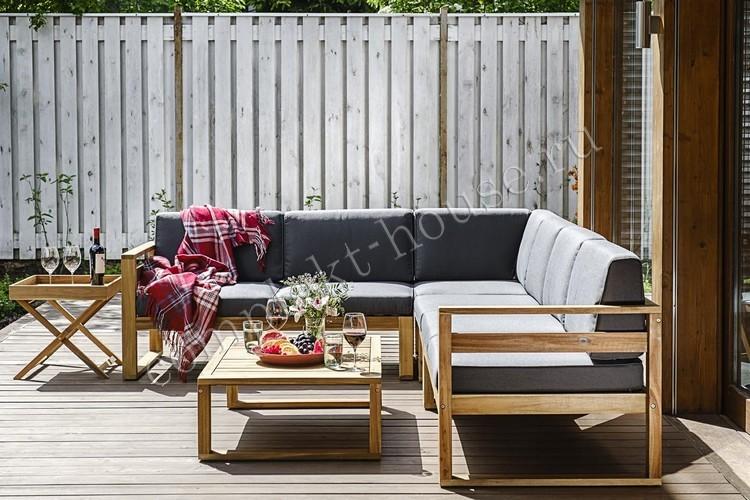Лаунж зона с кофейным столиком Blooko