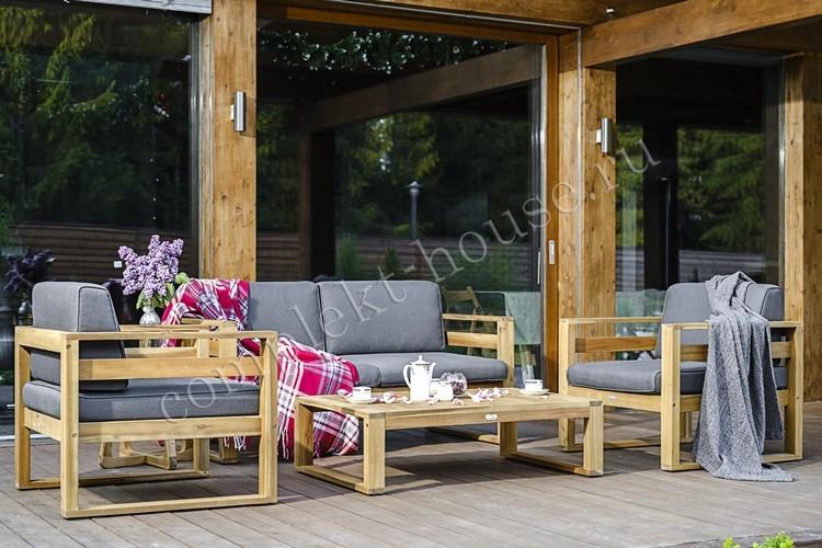 Комплект диванный с кофейным столиком Blooko