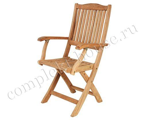 """Filippa"". Кресло из тика, складное."