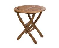 """""""Everton"""". Стол из акации, складной (D 70 см)."""