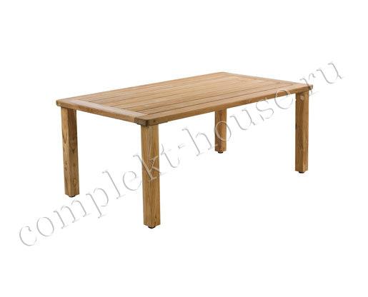 """""""Rusteak"""". Стол из тика, тик, цвет натуральный, размер 180x100 см, высота 75 см."""