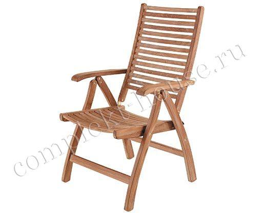 """Calcutta"". Кресло из тика, складное."