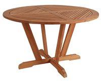 """Bilbao"".Стол из тика, диаметр 120 см."