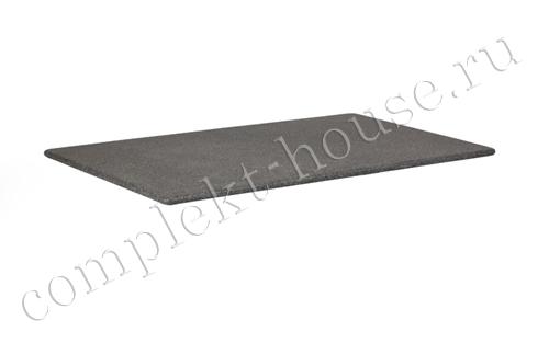 """Avila"". Столешница для стола, каменная, цвет черный, размер 70х70 см."