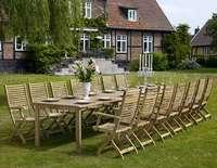 """""""Maxime"""".Стол из тика, раздвижной, размер 220/440x100 см."""